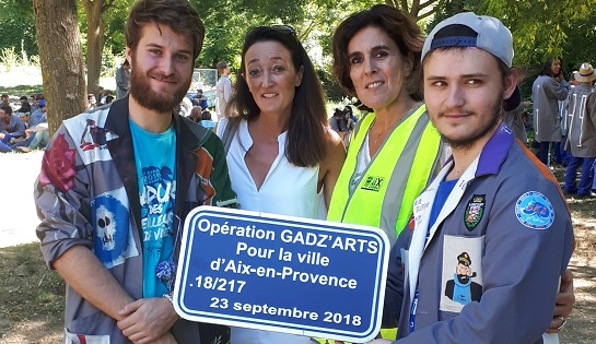 Opération Gad'zarts 2018: les photos