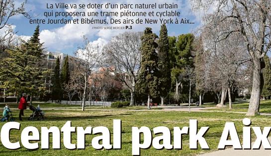 «Central park Aix» – La Provence 23 novembre 2018