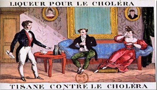 Le confinement et le choléra à Aix en 1835