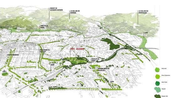 Un Parc Naturel Urbain à Aix