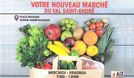 Marché du Val St André