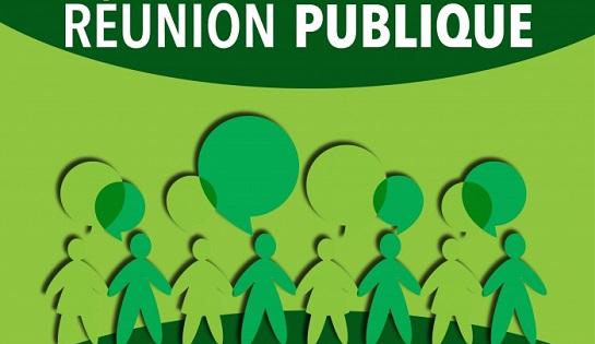 Réunion publique du 23 janvier 2020