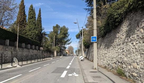 Cours Gambetta: le vélo en bonne voie